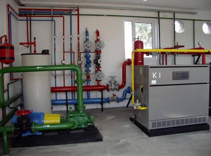 Plumbing and heating installations
