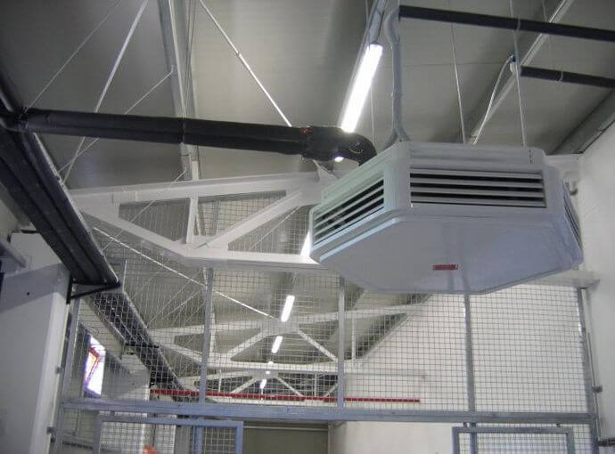 Electrical and ventilation installations